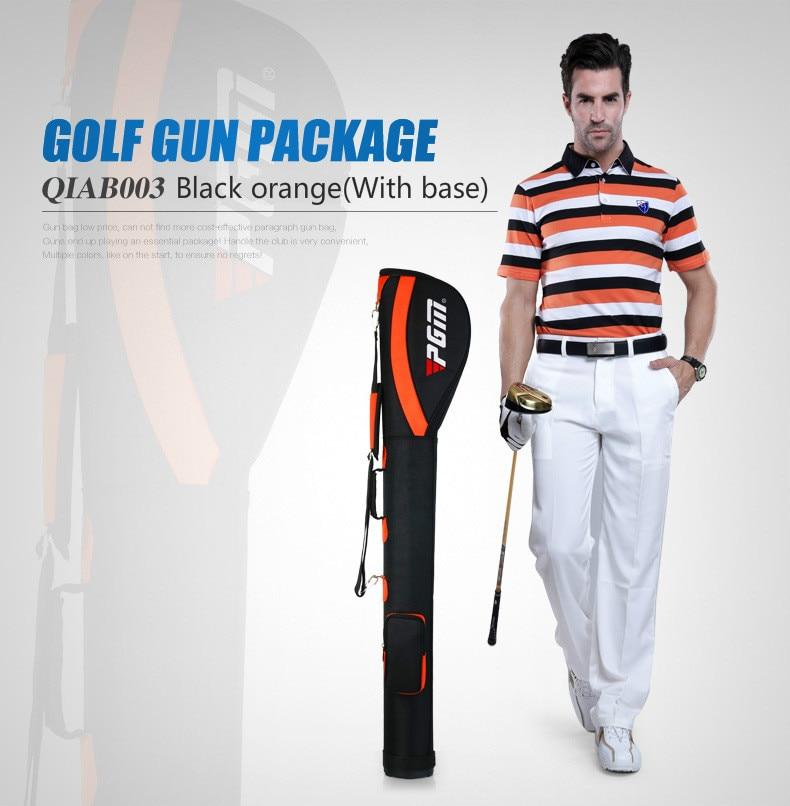 PGM Authentic Men Women Golf Pencil Gun Bag Hold 6 7 Clubs Precision Golf Bag Lightweight Traveling Bag Cover D0055