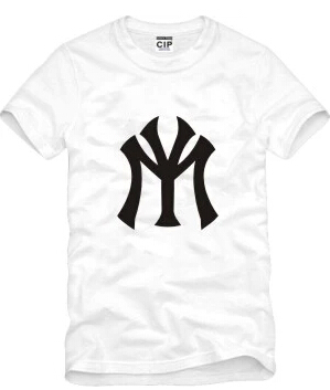 T Shirt Summer Style Famous Brand New York Baseball T Shirts NY Printing  Causul Yanke T-Shirt Tops Sports Plus Size S-XXXL 5a929efb870