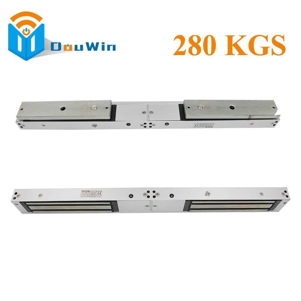 280kg electric lock double door electric magnetic lock 600Lbs EM lock double door 280KG elertromagnetic Double Electronic Lock digital electric best rfid hotel electronic door lock for flat apartment