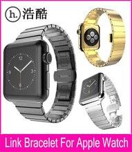 Haute Qualité Pour HOCO Apple Watch Lien Bracelet Bande 42mm Or Argent Acier Inoxydable Bracelets Avec Fonction de Libération Rapide