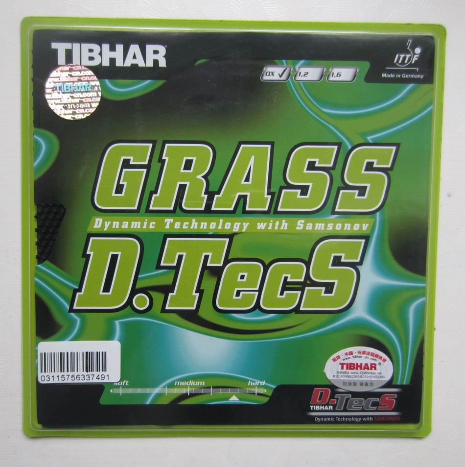Original Tibhar GRASS D TECS long pimples in table tennis rubber and rubber without sponge xo