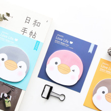 Get more info on the 4pcs Cartoon animal cute penguin sticky note Color Post memo pad sticker marker it notes Stationery Office School supplies A6373