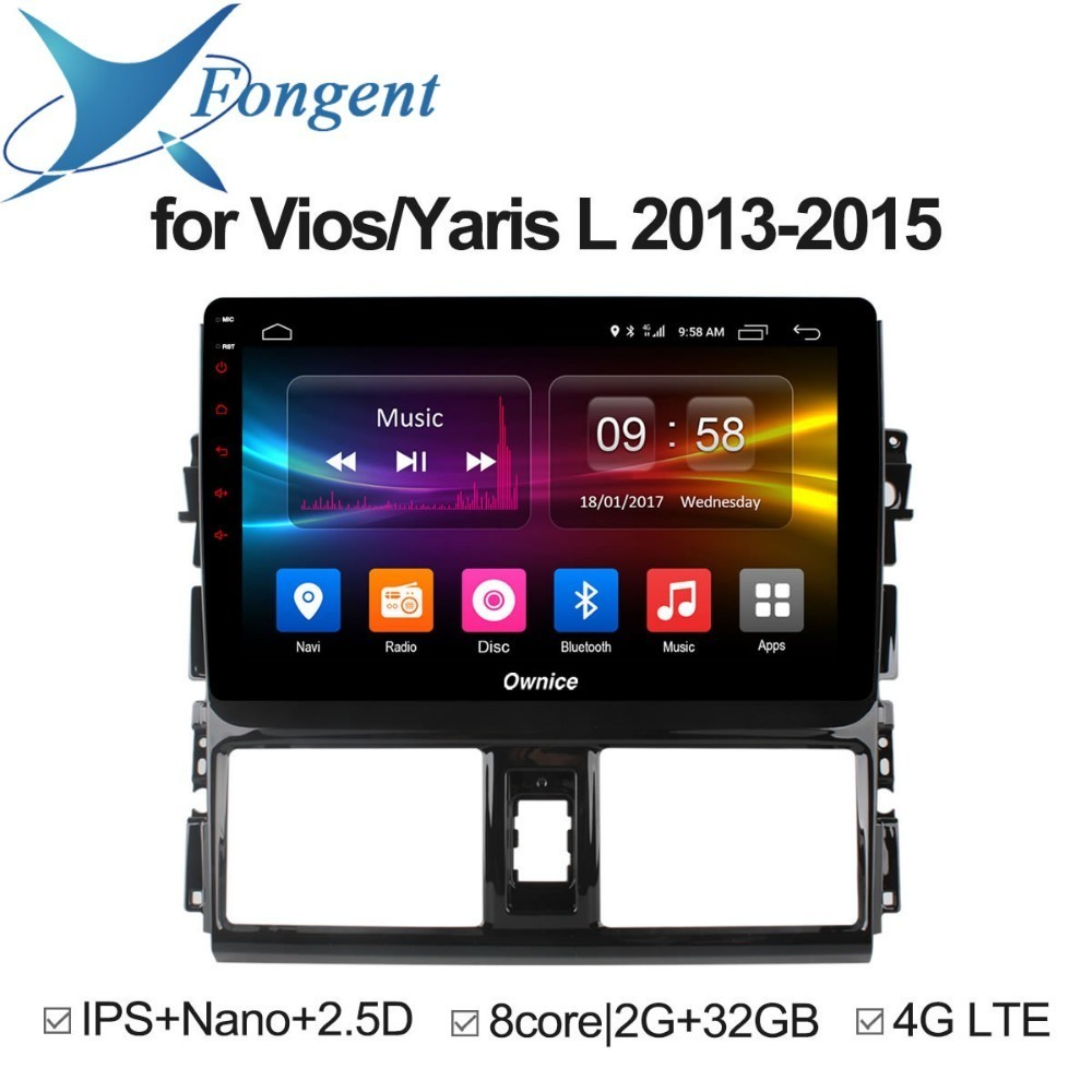 For Toyota VIOS/YARiS L 2013 2014 2015 Android Car Pad
