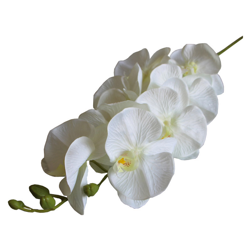 Image 4 - 7 Heads Phalaenopsis Orchid Flower Artificial Flower Wedding Decoration Floral Christmas Party Home Decor-in Artificial & Dried Flowers from Home & Garden