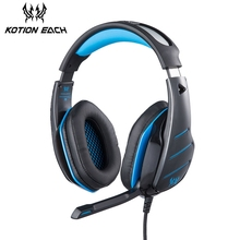 KOTION CADA GS800 Fones De Ouvido Com Microfone Fones de ouvido de Jogos Para PC Computador Com Cancelamento de Ruído Stereo Baixo Fone de Ouvido Do Jogo de Vídeo