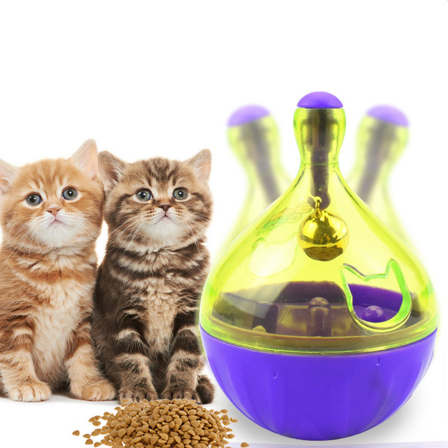 Interactive Cat Food Treat Ball (2 Types Available)