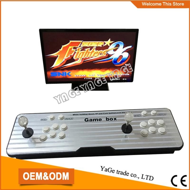 все цены на  Latest Household classic design pandora box 4s game arcade joystick machine, multi games 680 in 1 Joystick Consoles  онлайн