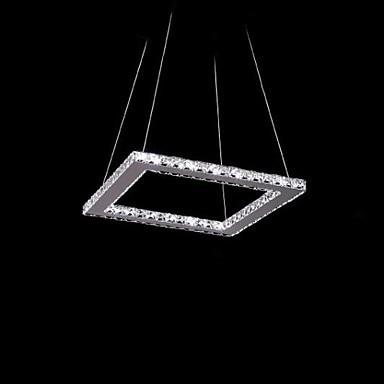 40CM LED Ctystal Modern Pendant Light Lamp For Dinning Room, Luminaire Lamparas Lustre De Cristal Sala Teto 40cm acrylic round hanging modern led pendant light lamp for dining living room lighting lustres de sala teto