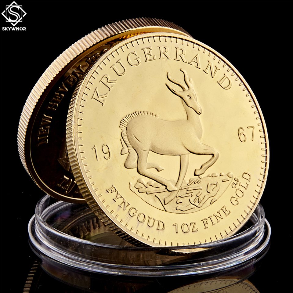 1967 South Africa The first president Paul Kruger Krugerrand Commemorative Coin