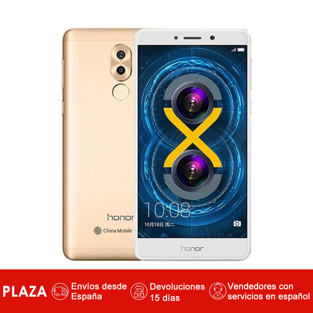 Smartphone Honor 6X 5.5 ''(Android, mémoire interne 32 go, RAM 3 go, caméra arrière 12.0MP, caméra frontale 8MP)