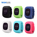 Wonlex GPS Tracker Watch OLED Q50 for Kids SOS Emergency Anti Lost GSM Smart Phone Setracker APP for Android iOS