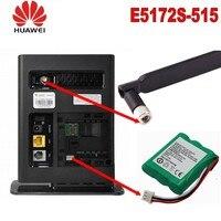 10pcs huawei e5172 lte cpe 4g 잠금 해제 모바일 광대역 lan wifi 핫스팟 경로 (배터리 및 안테나 포함)