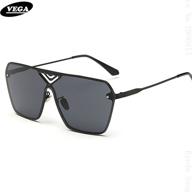 1521ce8ae9e9 VEGA Unique Frameless Sunglasses Men Women Latest Novelty Sunglasses Online  HD Vision Hipster Glasses Extra Wide