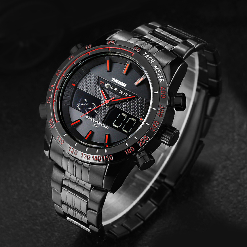 Sport Watches Men's Digital Chronograph Wristwatches 30m Waterproof Waterproof Watch Sport Wrist Watch fashion Watch