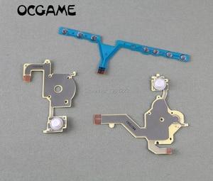 Image 1 - OCGAME 10 компл./лот Высококачественная замена направления перекрестная Кнопка Левая кнопка Регулировка громкости правая клавиатура гибкий кабель для PSP 3000 psp 3000