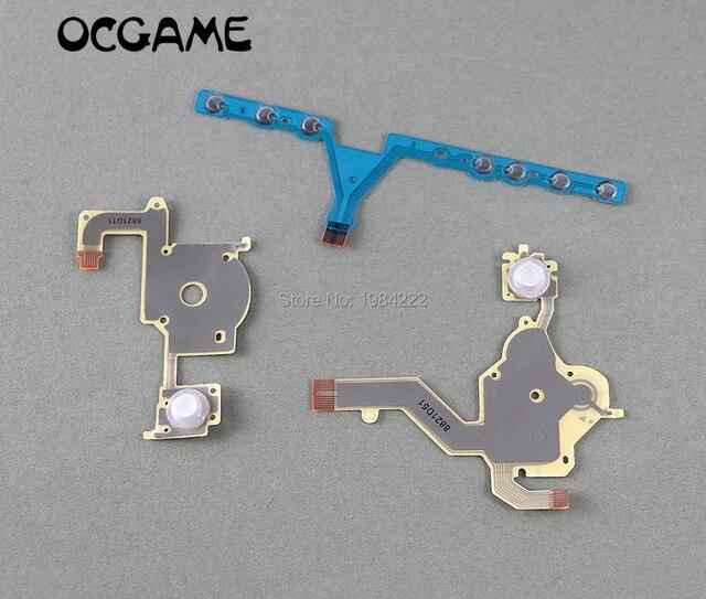 OCGAME 10 компл./лот Высококачественная замена направления перекрестная Кнопка Левая кнопка Регулировка громкости правая клавиатура гибкий кабель для PSP 3000 psp 3000