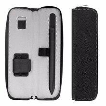 Пенал держатель чехол для Apple Pencil, Премиум PU кожаный чехол сумка для переноски рукав чехол для Apple iPad 9,7 2018 Pro Карандаш