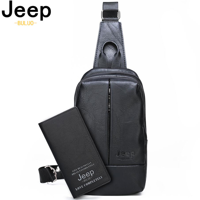 Bags Chest-Bag Travel-Shoulder-Bag Crossbody-Sling Jeep Buluo Big-Size High-Quality Luxury Brands