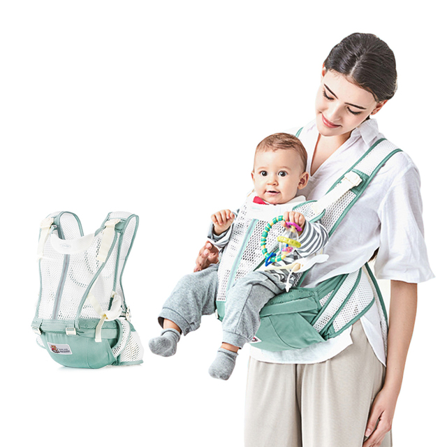 Bethbear 0-36 Months Breathable Front Facing Baby Carrier 4 In 1 Loading 20Kg Baby Carriers Sling Backpack 3 Colors Available Activity & Gear