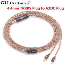 GUcraftsman 6n occ copper ATH-CKR90is CKR100is CKR1100is LS400 LS300 LS200  Headphone upgrade Cables