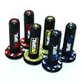 "1 pair 7/8"" Motorcycle Pro taper grips Dirt Pit Bike Motocross Handlebar Motorbike Grip Handle Bar RUBBER GEL Dual Density Grips"