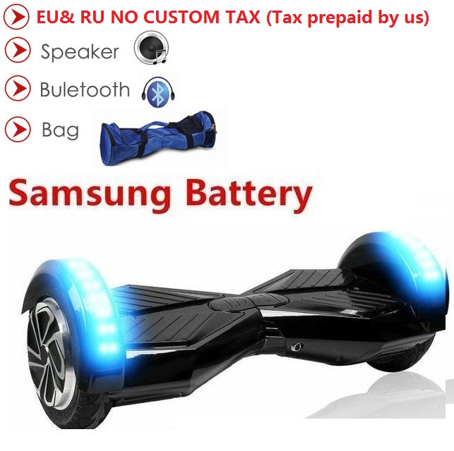 8 inch hoverboard skateboard electric scooter 2 wheel electric standing scooter bluetooth balance board electric skate overboard