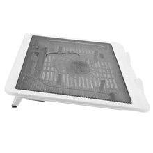 Weiß PC tragbare ventilator stehen für laptop kühler notebook stand laptop cooling pad ventilador usb lüfter super kühler