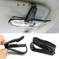 Auto Fastener ABS Car Vehicle Sun Visor Sunglasses Eyeglasses Glasses Holder Card Ticket Clip Automotive Accessories