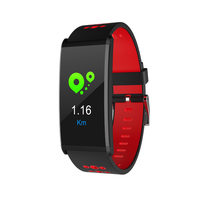 Smart Watch 0.96 Inch Color Screen Blood Pressure Oxygen Fitness Wristband Waterproof Alarm Clock Bluetooth Wristband Fitbits