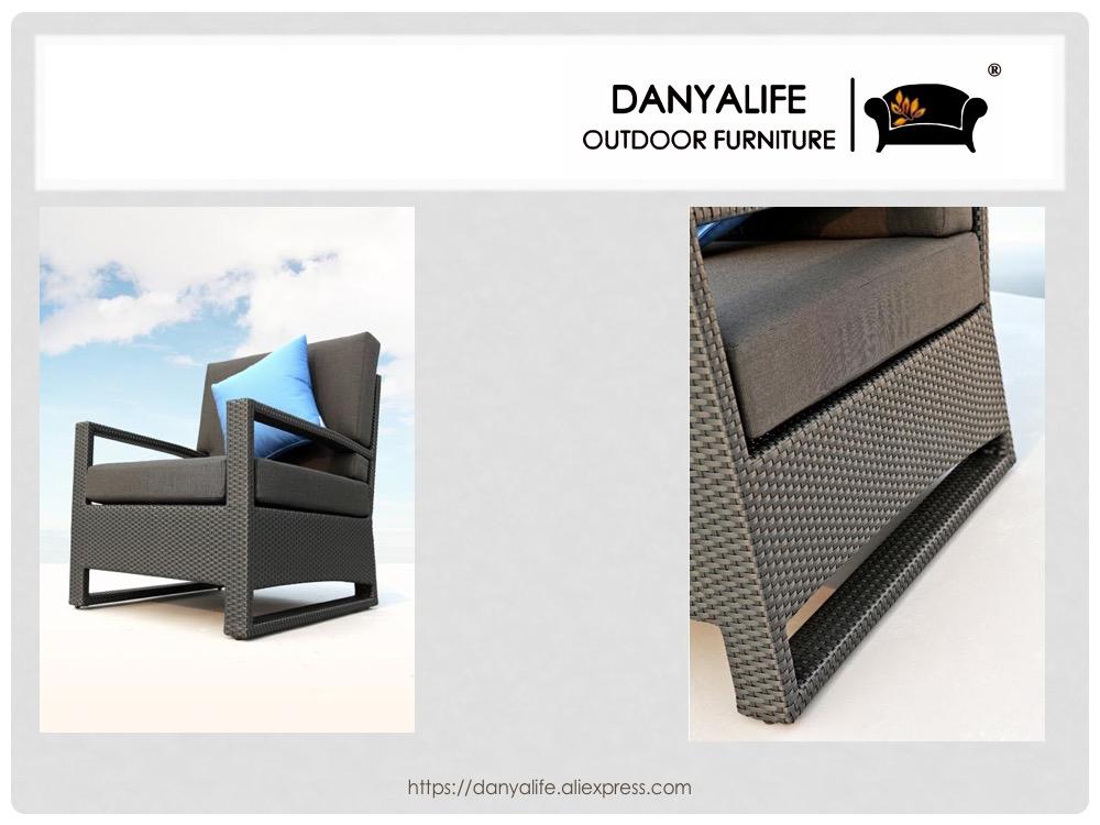 dysf-d5606 danyalife Ross Europa дизайн сад диван из ронг и украл набор