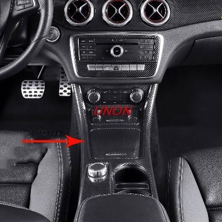 Support de verre garniture de couverture pour Mercedes Benz A/GLA/CLA classe C117 W117 2012-2017 AMG accessoires de voiture pour conduite à gauche