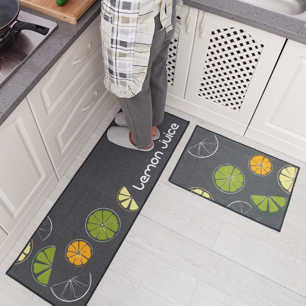 Hot Sale Super Soft Non slip Kitchen rug bath mats set Living room Bedroom door mat