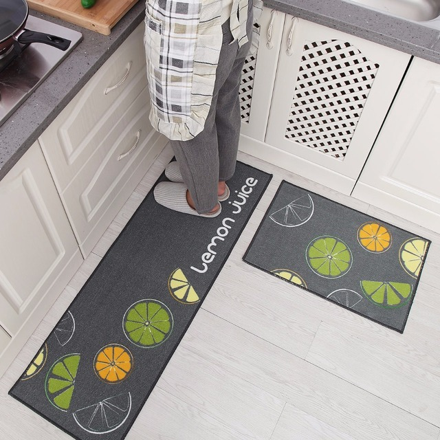 hot sale super soft non slip kitchen rug bath mats set living room rh aliexpress com non slip kitchen rugs reviews non slip kitchen floor rugs