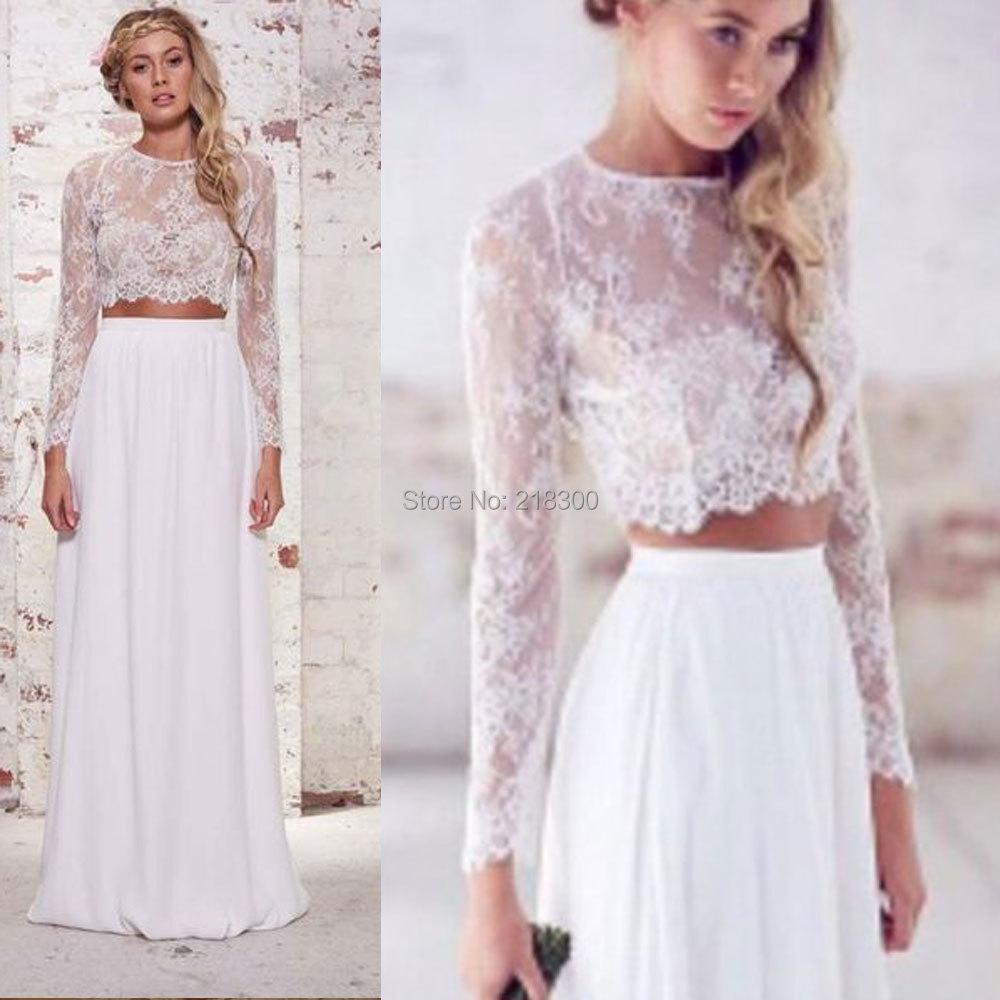 crop top wedding dress boho wedding dress crop top