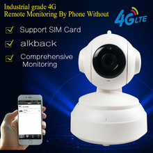 4G Mobile PTZ 960P HD IP Camera 3G&4G SIM Card Camera P2P Netowrk Worldwide Real Time Monitor Support Max 64G