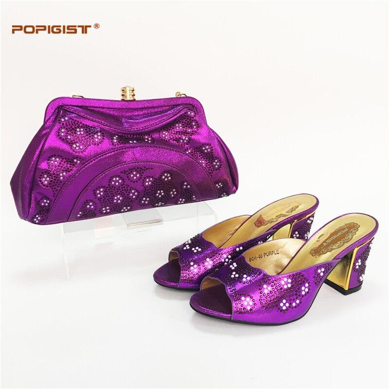 Italianos purple Bolsos Flores Dhl Talón gold Envío Set Más 3 Blue peach Melocotón Juego red A 8 teal Decoración royal Zapatos Black Y Rápido Cm Cómodo Tamaño Rhinestones OqPWSx