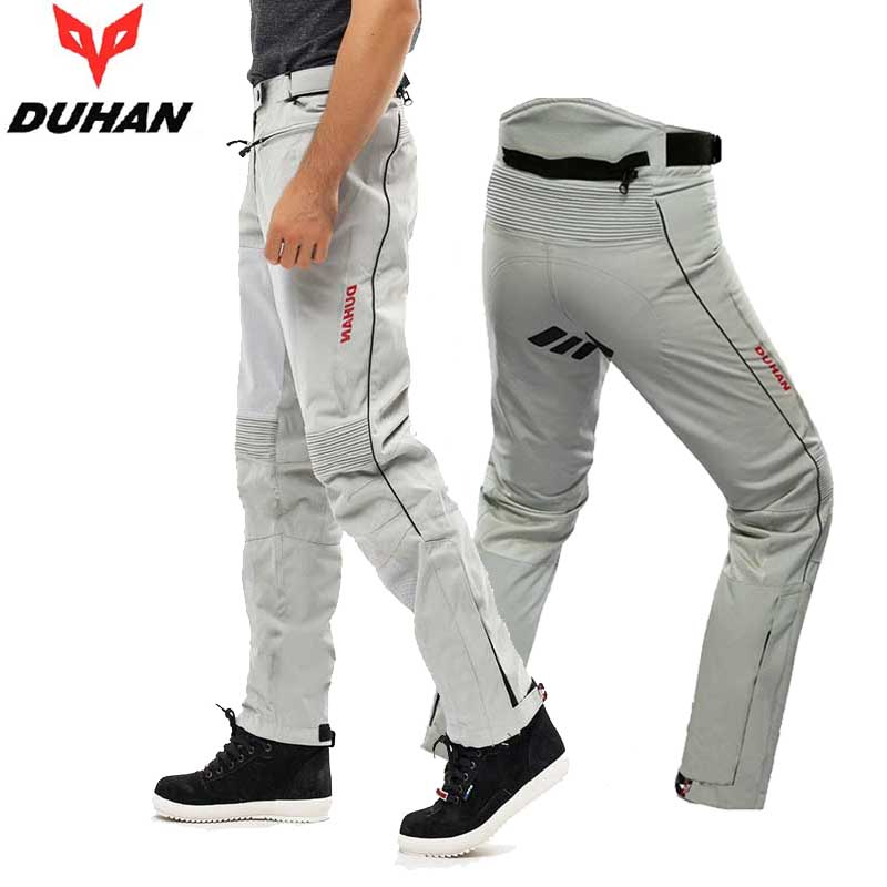 Spring, summer, autumn Men DUHAN DK-016 Motorcycle Moto pants Knight Motobike riding trousers 2 colors size M L XL XXL adjustable pro safety equestrian horse riding vest eva padded body protector s m l xl xxl for men kids women camping hiking