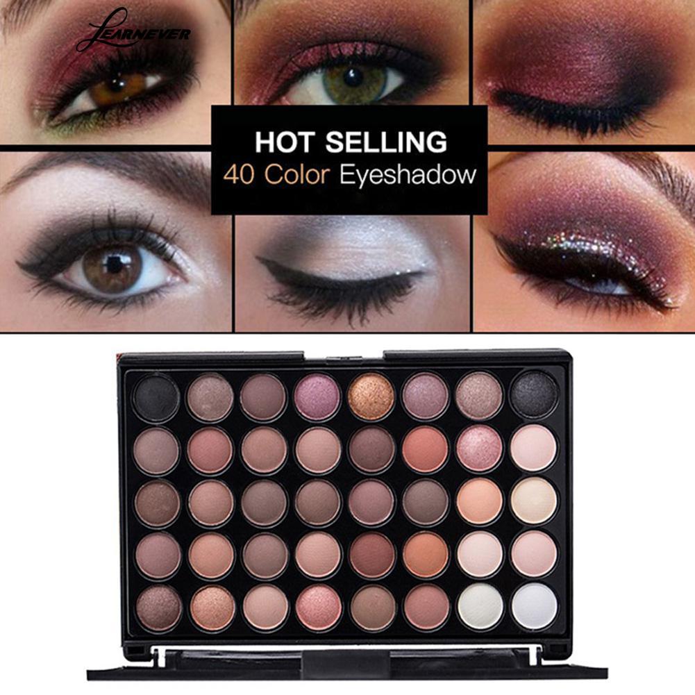 Professional Eye Makeup Miss Rose 24 Color Natural Shimmer