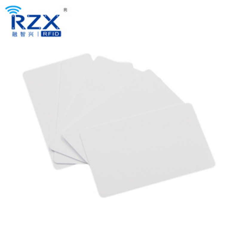 CR80 standard card size MIFARE Plus X 2K rfid blank card for thermal printing 1000PCS 1 design laser cut white elegant pattern west cowboy style vintage wedding invitations card kit blank paper printing invitation