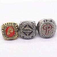 1980 2008 2009 Philadelphia Phillies World Championship Ring Set 3 Pcs Lot