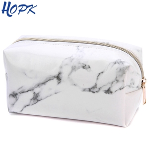 Marble Pencil Case Quality PU
