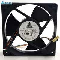 for delta EFC1248DF 120*120*32mm 12032 12cm 48V 0.33A 4Wire for P/N:32030010 Inverter Cooling Fan