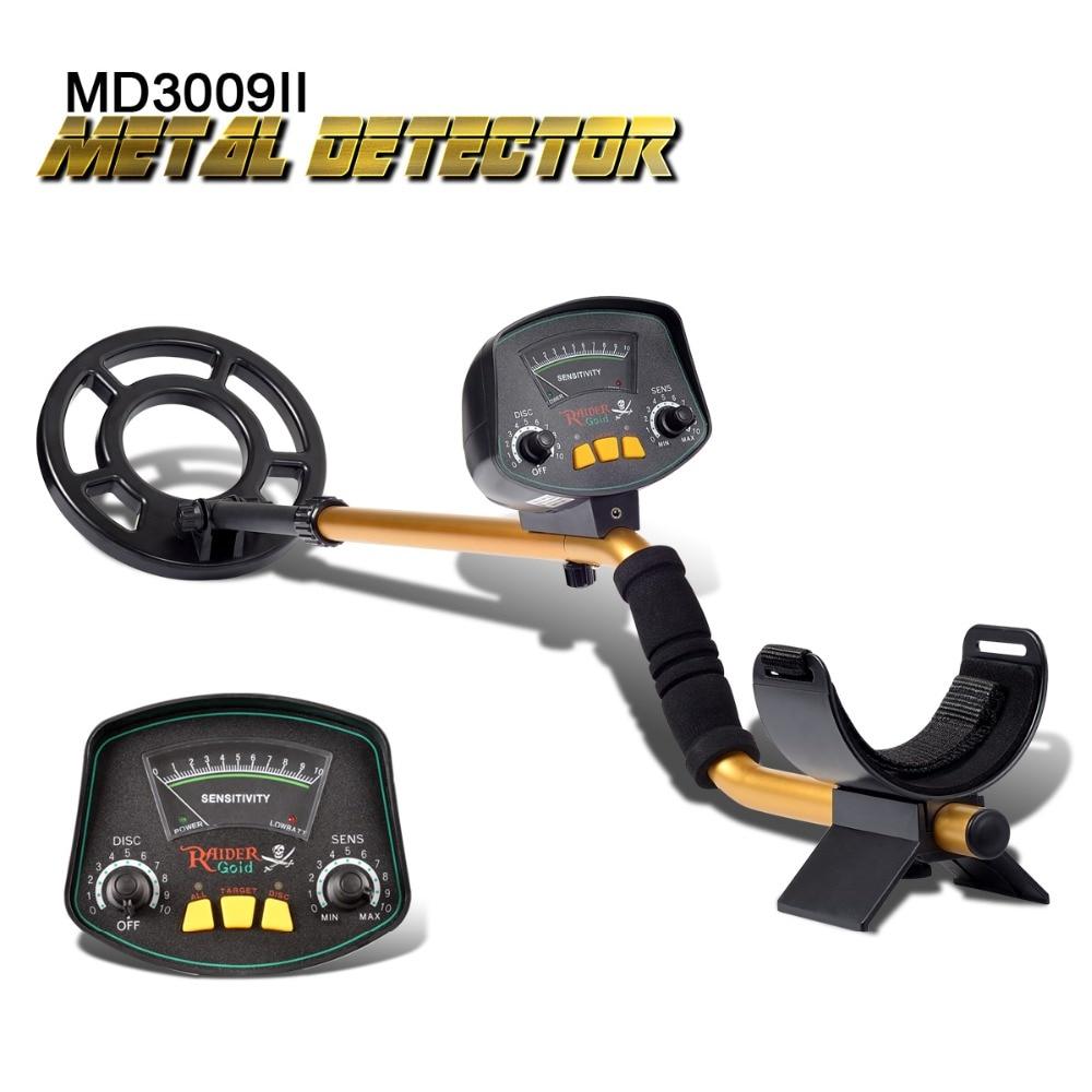 Professional Underground Metal Detector MD3009II Gold Ground Metal Detector MD-3009ii Nugget High Sensitivity Sliver Finder цена