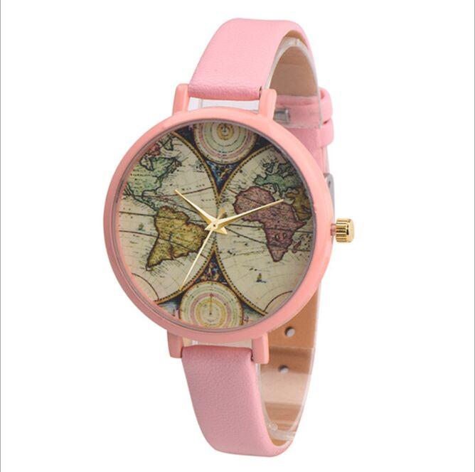 Luxury font b Watch b font Men Gold Big classic Clock With Leather Band Original Janpan