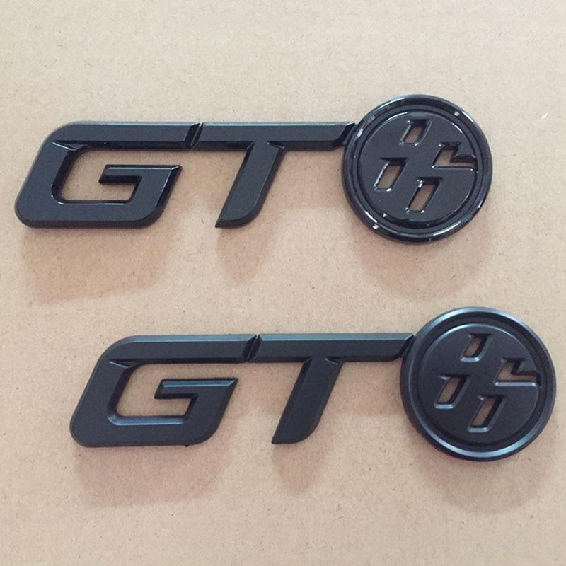 Brillant Noir GT86 Logo Arrière Trunk Badge Emblème Decal Autocollant pour Toyota FR-S FRS GT86 FT86 BRZ