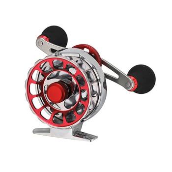 YUYU Full Metal Fly Fishing Reel seria 65mm współczynnik lodu 3.6: 1 kółko żyłki ryb 10 + 1BB prawa lewa ręka kołowrotek kołowrotek