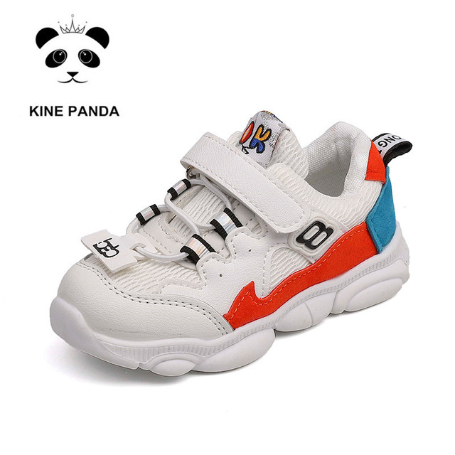 KINE PANDA 1 2 3 4 Years Old Kindergarten Little Kids Shoes Breathable Boys Girls Casual Sneakers Toddler Baby Sport Trainers