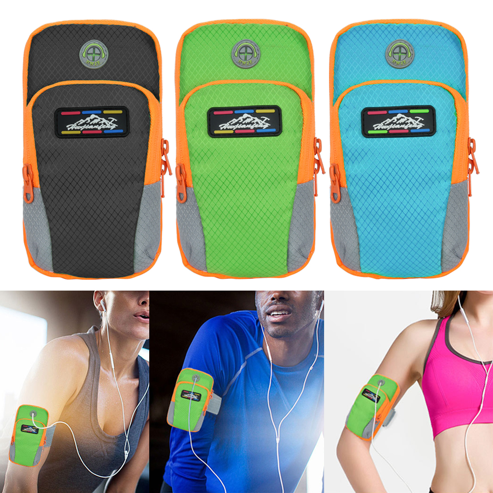 NEW Sport Arm Band Case For 6 inch Phone iPhone/Samsung/Huawei  Outdoor Waterproof Running Gym Phone Cover Coque Accessory 11