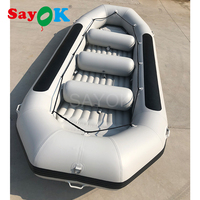 5m Long Inflatable River Rafting Boat Water Slide Boat Rafting Boat for Sale (for 12 people)