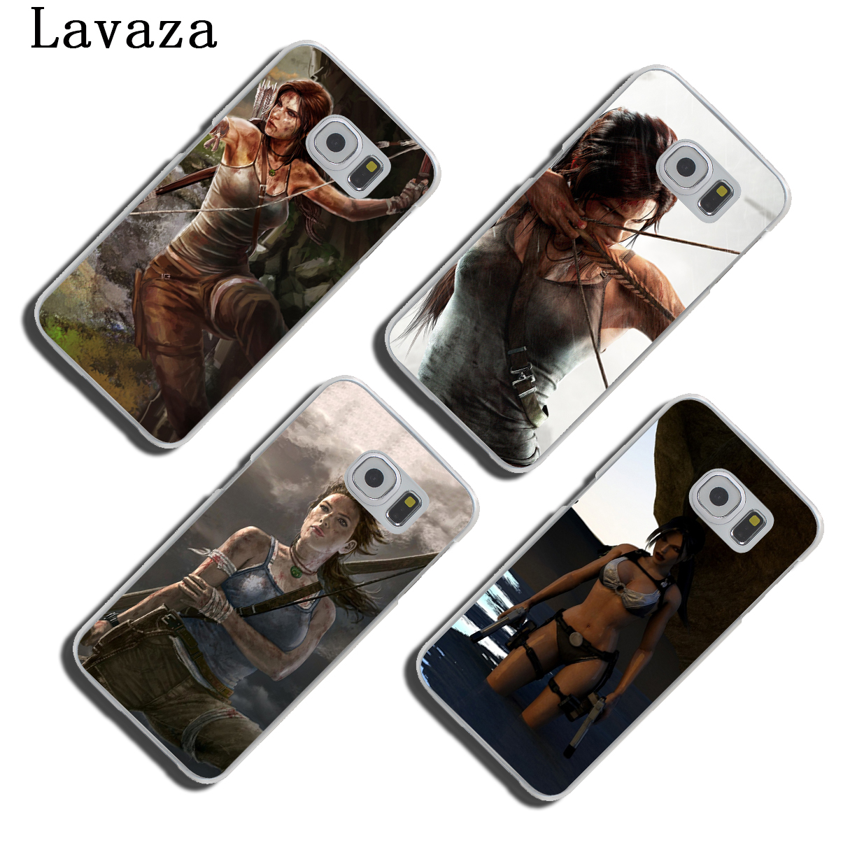 Lavaza Rise Of The Tomb Raider film Hard Skin Phone Shell Case for Samsung Galaxy S7 S6 Edge S3 S4 S5 & Mini S8 S9 Plus Cover